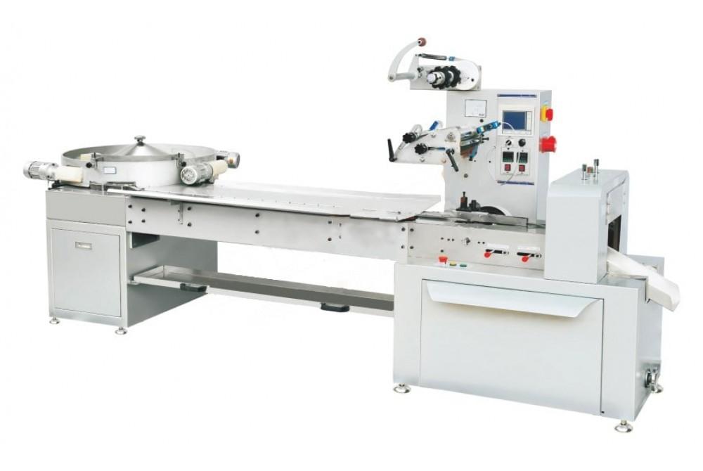 Купить автоматическая высокоскоростная машина  для упаковки конфет флоу пак JY-800