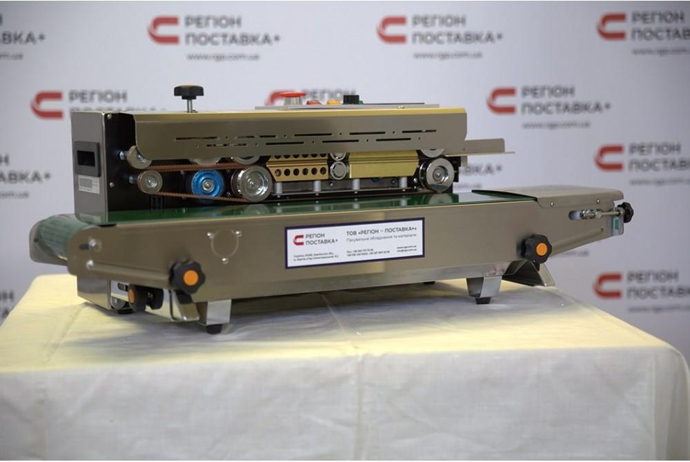 Запайщик конвейерный FR-900S с датировщиком настольный