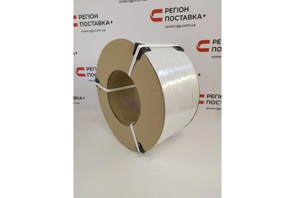 12*0,55 белая полипропиленовая лента