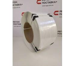 12*0,8 белая усиленная полипропиленовая лента